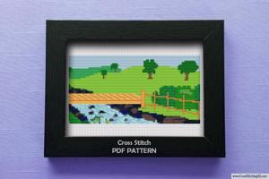 Park CrossStitch Design