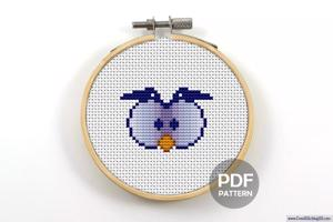 Cartoon Owl CrossStitch Chart