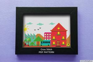 Smart City CrossStitch Chart