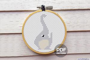 Elephant Trunk Cross Stitch Pattern