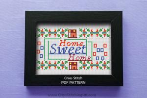 Home Sweet Home 2 Cross Stitch Chart