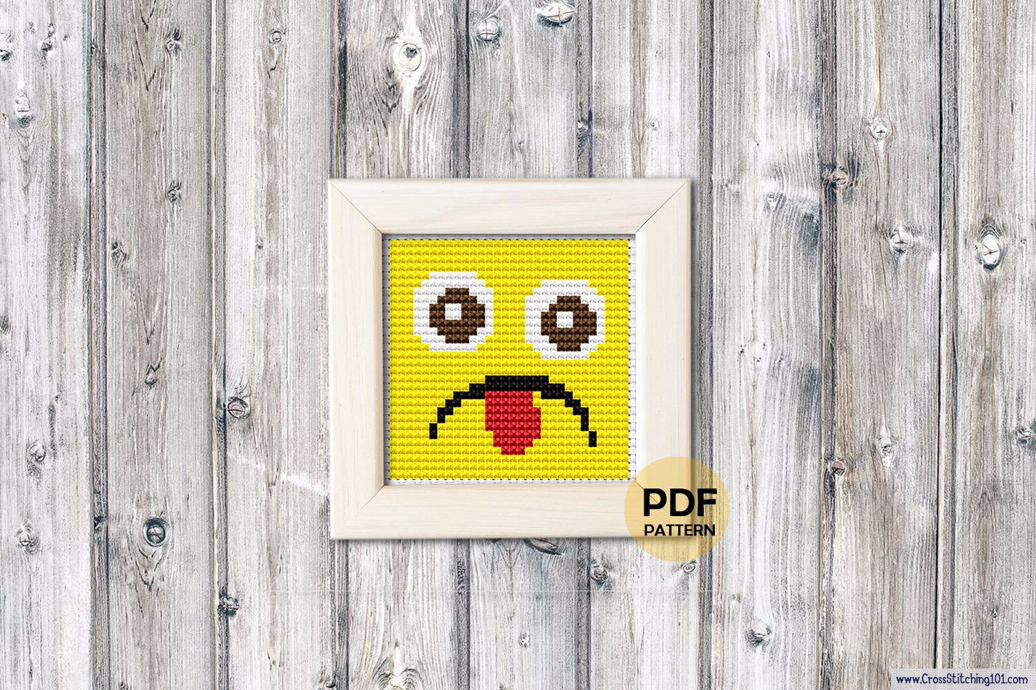 Emoji 2 Cross Stitch PDF