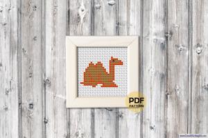 Camel Cross Stitch Design