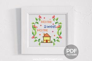 Home Sweet Home 5 Cross Stitch PDF