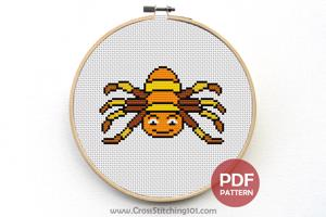 Spider CrossStitch Chart