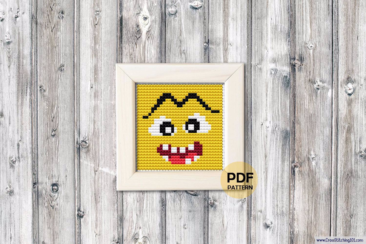 Emoji Cross Stitch Chart