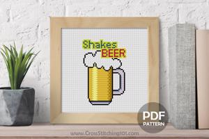 Shakesbeer CrossStitch Pattern