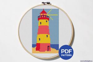 Lighthouse CrossStitch Chart