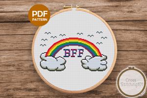 BFF CrossStitch Pattern