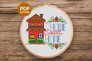 Home Sweet Home 7 CrossStitch Design