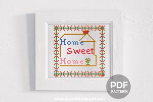 Home Sweet Home 4 CrossStitch Design