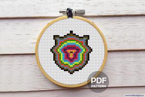 Shield CrossStitch Pattern