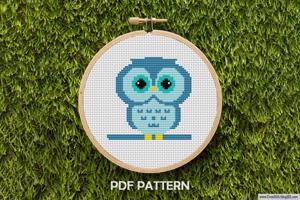 Owl Cross Stitch PDF