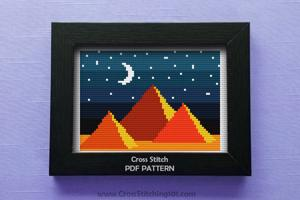 Night in Egypt Cross Stitch Chart